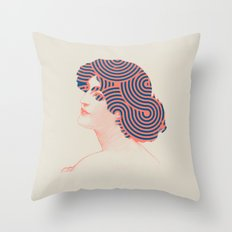 Hair Throw Pillow