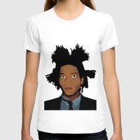 basquiat T-shirts featuring Basquiat by evanski