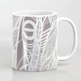 Earthy Feathers Coffee Mug