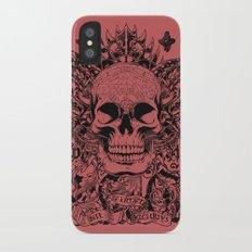 Cobra skull Slim Case iPhone X
