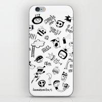random iPhone & iPod Skins featuring Random by Primo