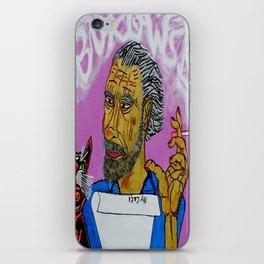 Bukowski iPhone Skin