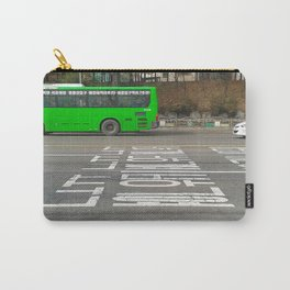Green Korean Bus Carry-All Pouch