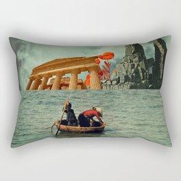 We Are All Fishermen Rectangular Pillow