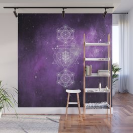 Sacred Geometry - We are Stardust Wall Mural