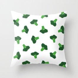 Broccoli Throw Pillow