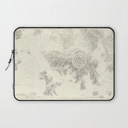 Vintage Map Print - Admiralty Chart No 1466 Hong Kong (1964) Laptop Sleeve