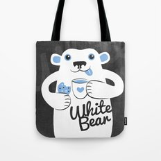 White Bear Tote Bag