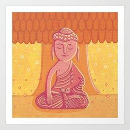 Buddha C Art Print
