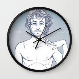 Death x Rebirth Wall Clock