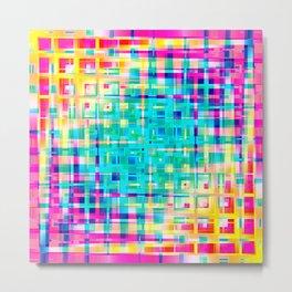 Abstract 308 Q Metal Print