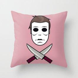 Myers Head Throw Pillow
