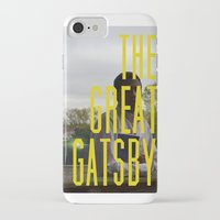 gatsby iPhone & iPod Cases featuring What Gatsby by Kaila D'Amato