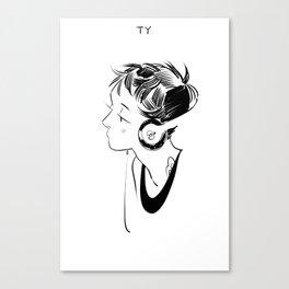TY Canvas Print