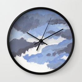 clouds_may Wall Clock