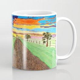 Country Sunrise in Acrylic Coffee Mug