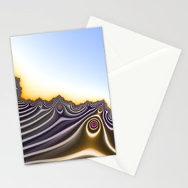 On the Edge of Nothingness Stationery Cards