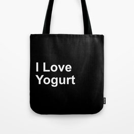 I Love Yogurt Tote Bag