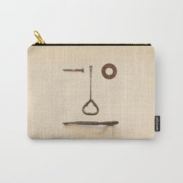 the Forgotten Workshop series- tool face Carry-All Pouch