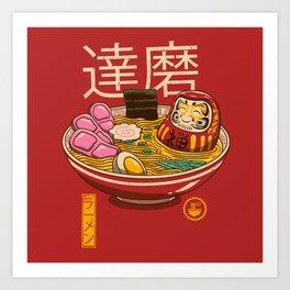Zen Ramen Art Print
