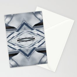 Snow Lines Stationery Cards