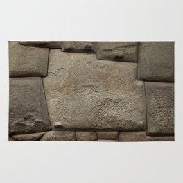 Twelve Sided Inca Stone Rug