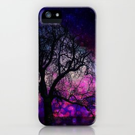 Lonely winter tree iPhone Case