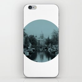 Amsterdam Canal #1 iPhone Skin