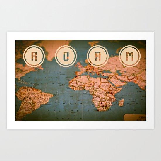 ROAM II Art Print