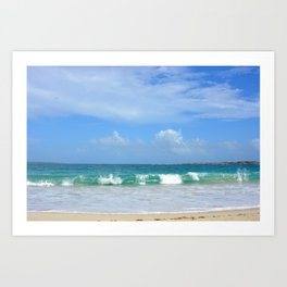 Big Waves After the Storm Art Print