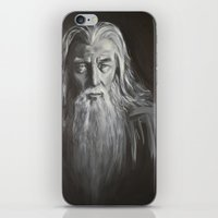 gandalf iPhone & iPod Skins featuring Gandalf by Alexandra Proppe