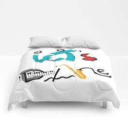 Type Let's Dance Comforters