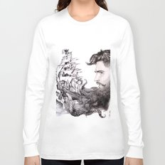 Sailor's Beard Long Sleeve T-shirt