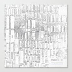 Robot People   (A7 B0019) Canvas Print