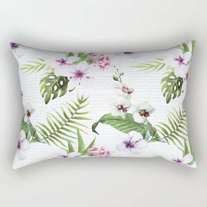 Tropical Summer #9 Rectangular Pillow