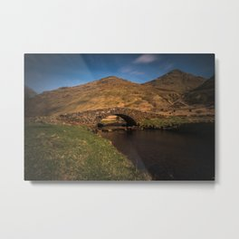 Butter Bridge Metal Print
