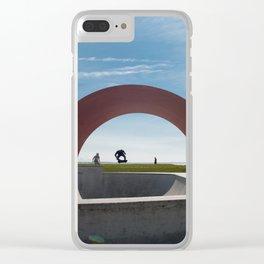 Big Gap, Saint Nazaire, France Clear iPhone Case