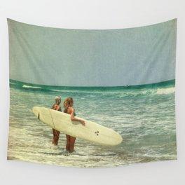 Girls of summer Wall Tapestry