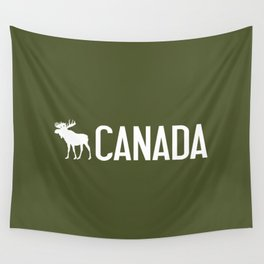 Canada Moose Wall Tapestry