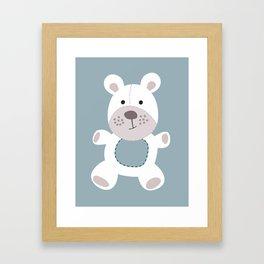 Baby Bear Framed Art Print