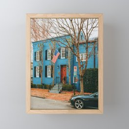 Georgetown House 13 Framed Mini Art Print