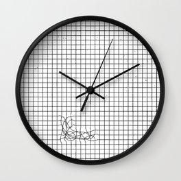 Haywire Wall Clock