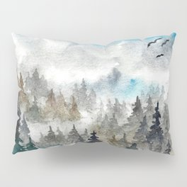 Landscape V: Soft Pines Pillow Sham