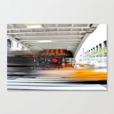New York Grand Central Cafe Canvas Print