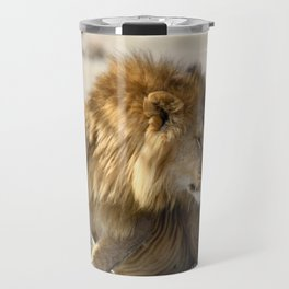 Lions in Love Travel Mug