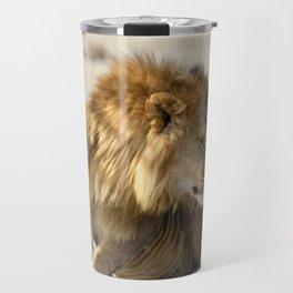 Lions in Love Travel Mug