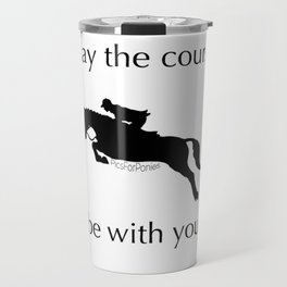May the course be with you Travel Mug