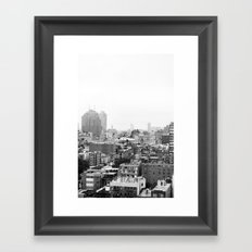 Lower East Side Skyline #3 Framed Art Print