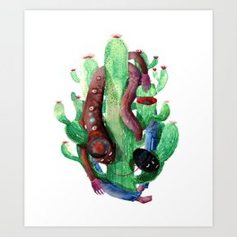catus invasion Art Print