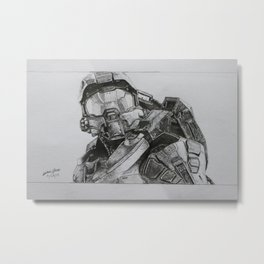 Master Chief/ Halo 5  Metal Print